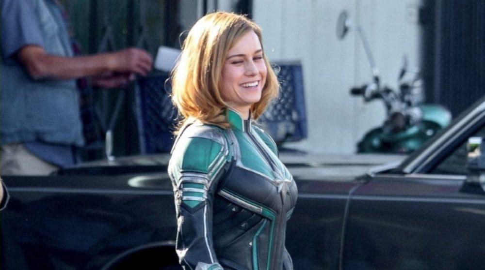 Captain Marvel Optagelser / Filmz.dk