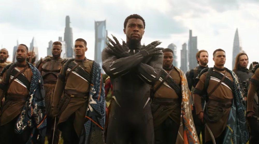 Black Panther Avengers Infinity War / Filmz.dk