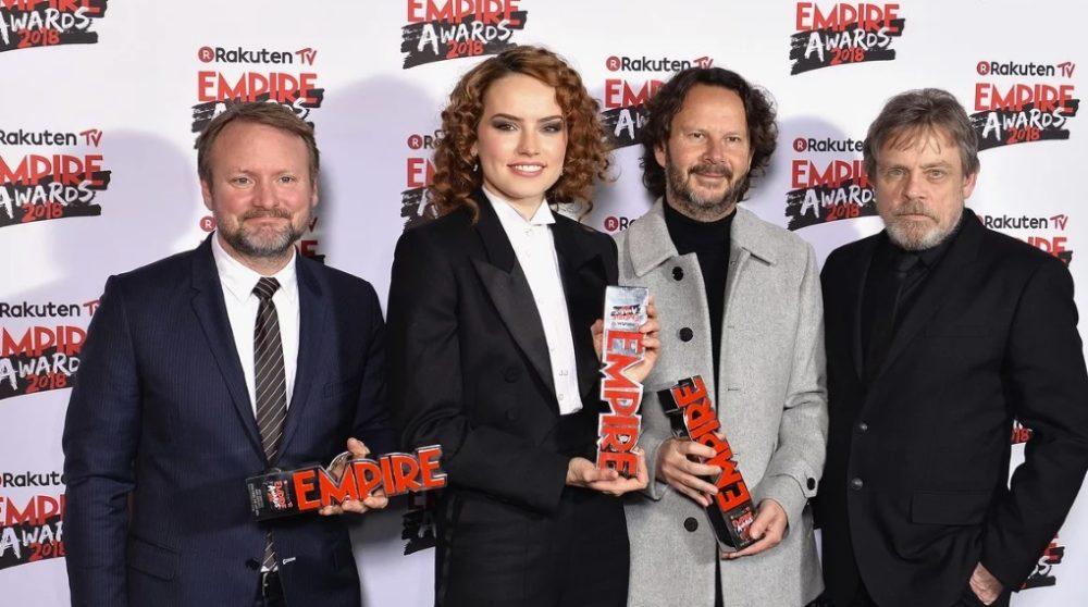 Empire Awards Årets Bedste Film The Last Jedi / Filmz.dk