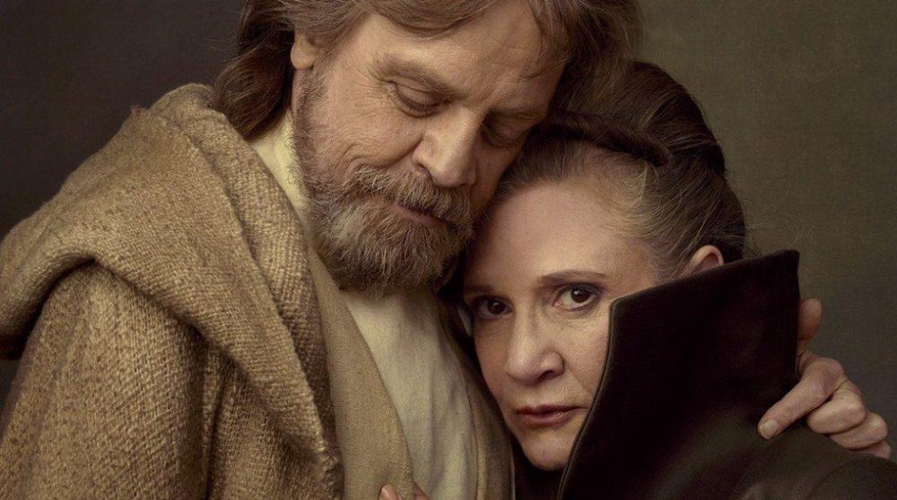 Mark Hamill Leia The Last Jedi / Filmz.dk