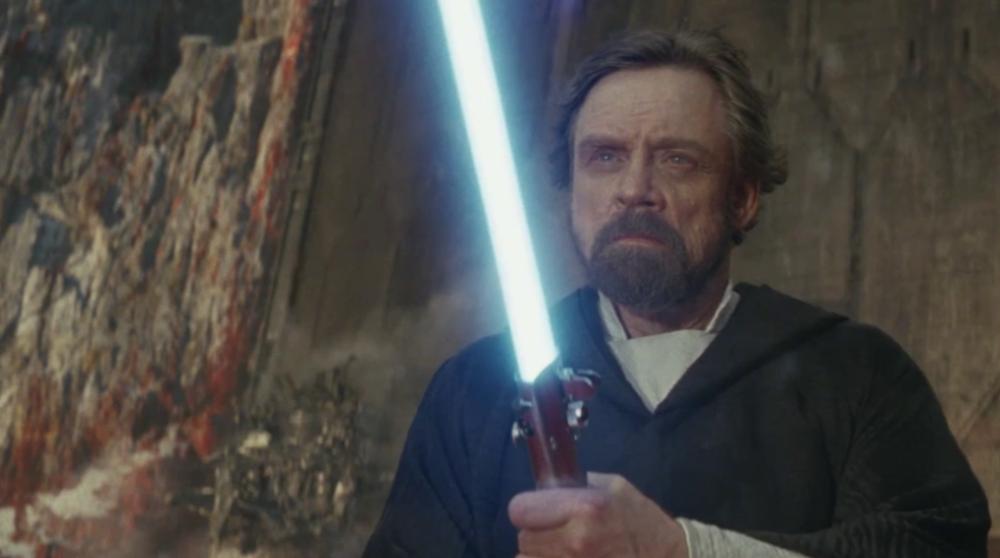 Luke Skywalker Yoda The Last Jedi / Filmz.dk