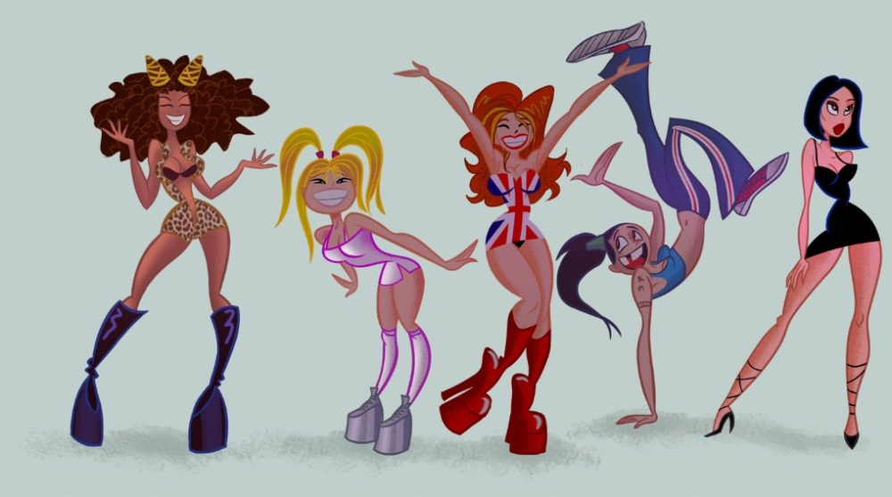 Spice Girls animated movie / Filmz.dk