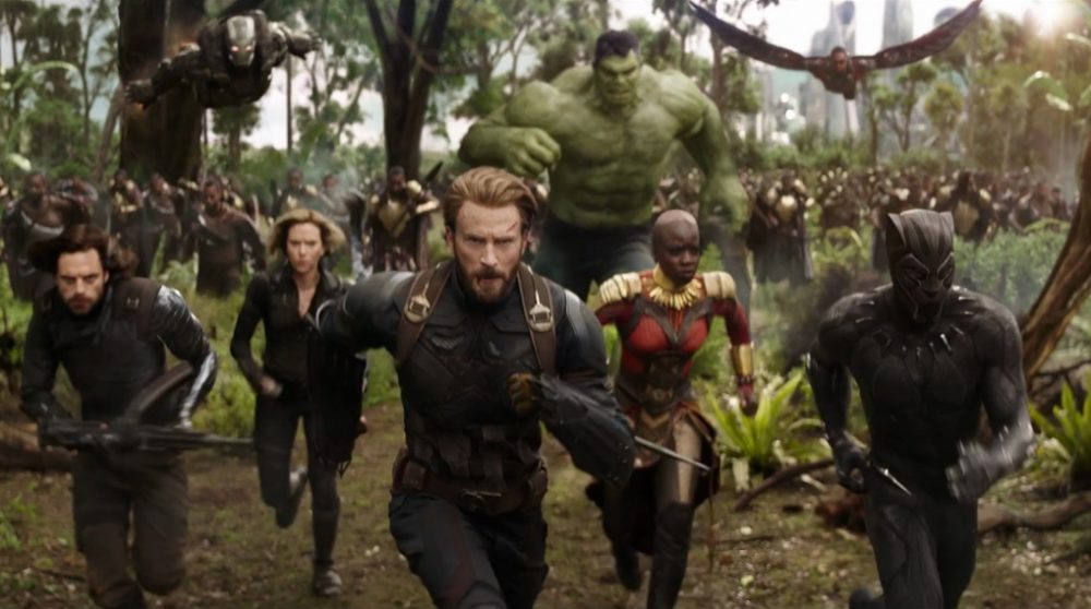 Avengers infinity war billetsalg black panther / Filmz.dk