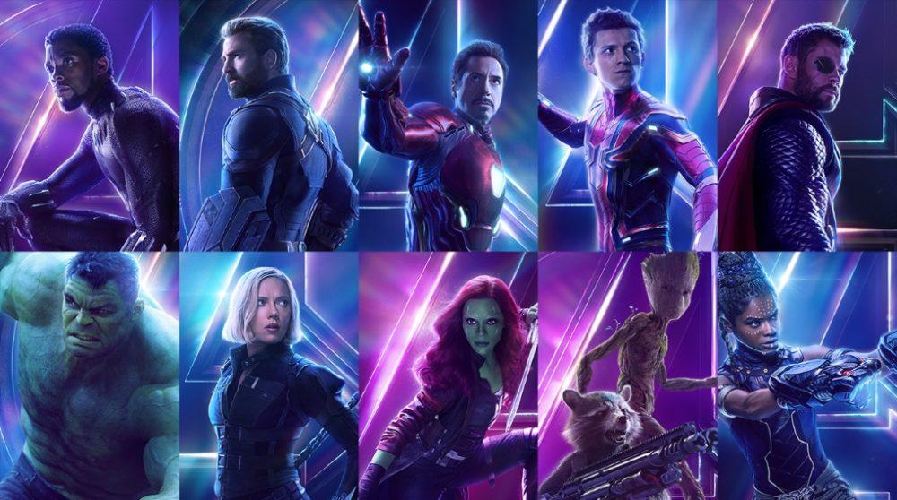 Avengers: Infinity War karakter plakater / Filmz.dk