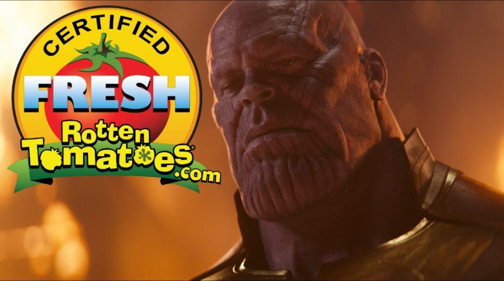 Avengers Infinity War Rotten Tomatoes / Filmz.dk