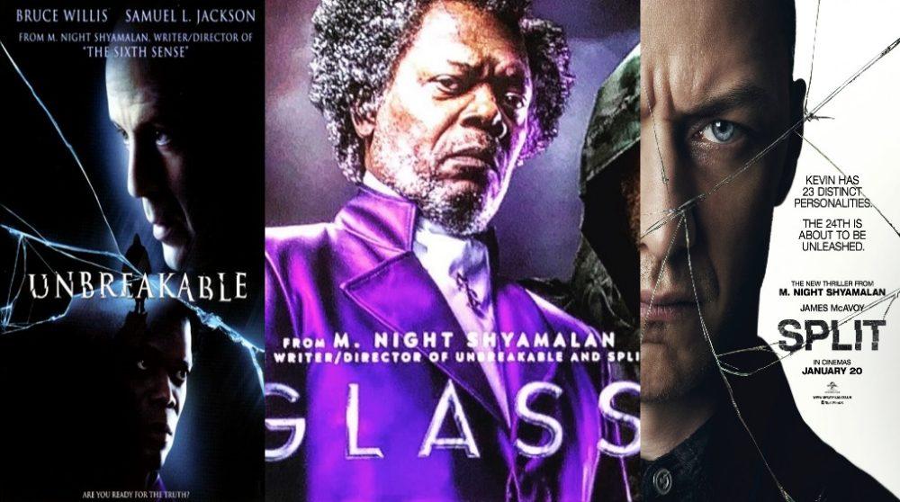 Glass unbreakble split poster / Filmz.dk