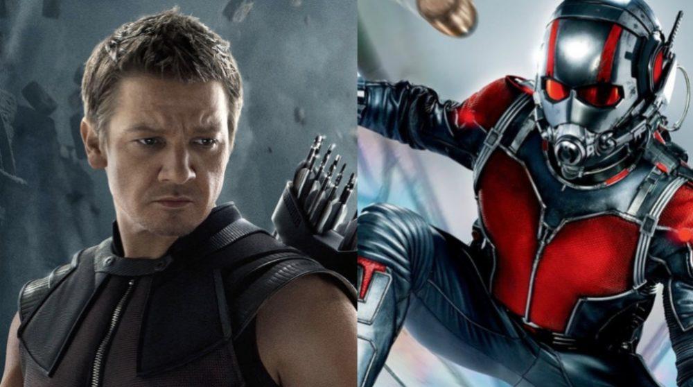 Hawkeye Ant-Man Avengers: Infinity War / Filmz.dk