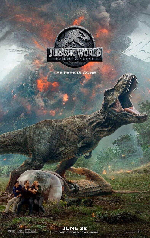 Jurassic World 2 Fallen Kingdom trailer / Filmz.dk