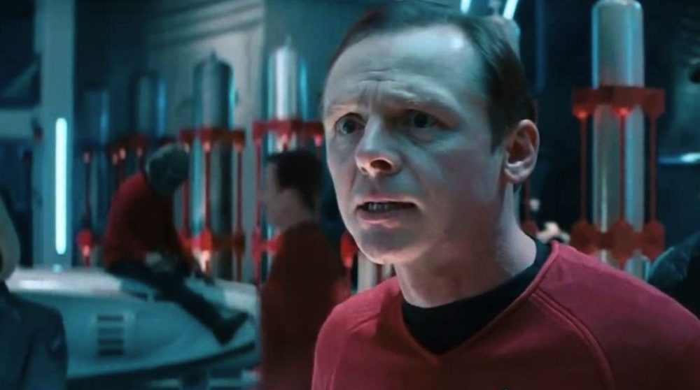 Simon Pegg Tarantino Star Trek 4 / Filmz.dk
