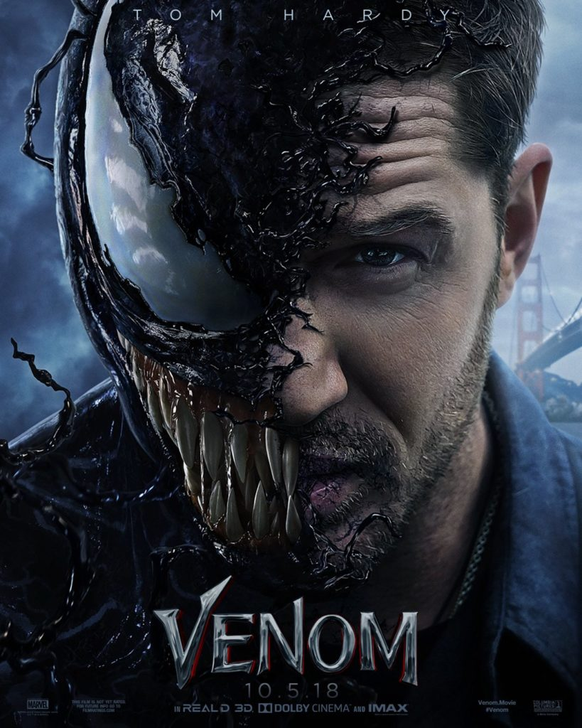 Venom trailer poster / Filmz.dk