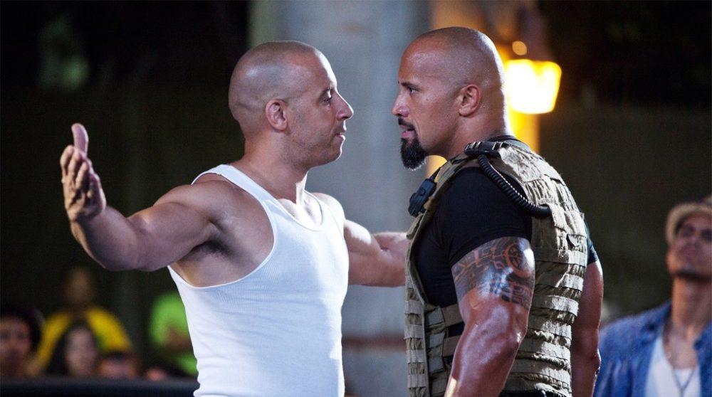 Dwayne Johnson Vin Diesel Fast and furious 9 / Filmz.dk