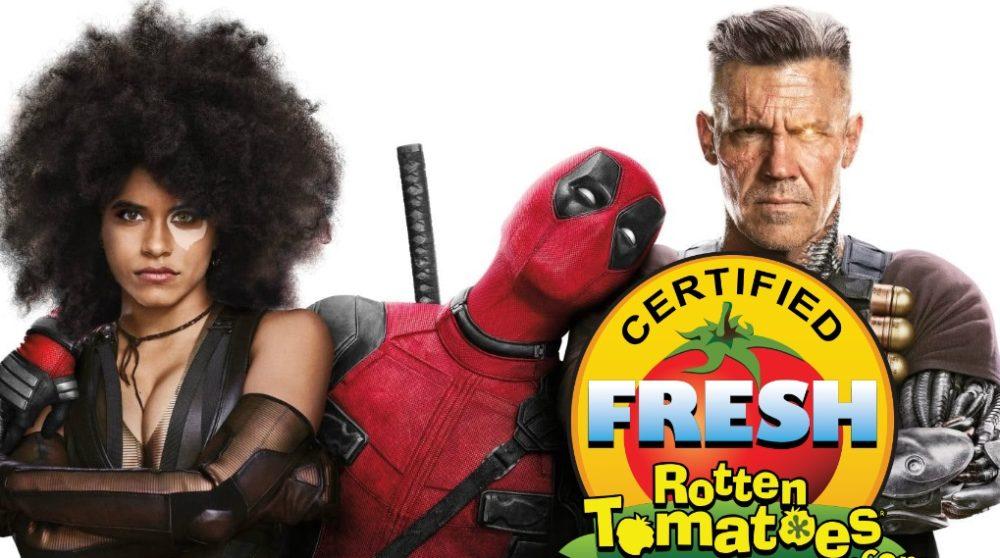 DEadpool 2 Rotten Tomatoes fresh / Filmz.dk