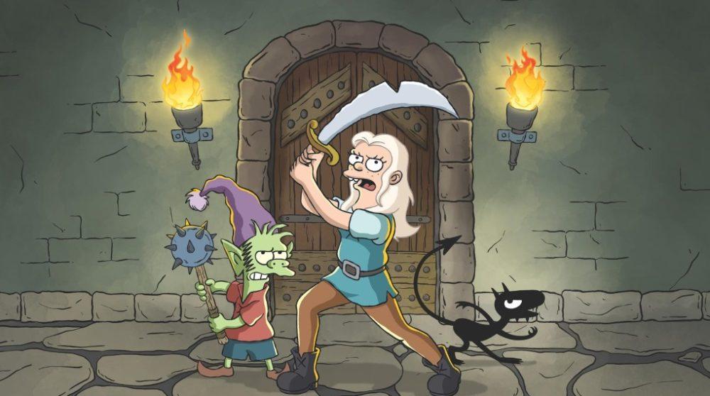 Disenchantment Matt Groening Netflix / Filmz.dk