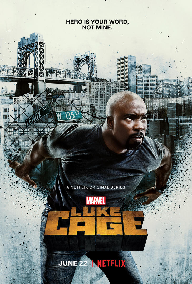 Luke Cage plakat trailer sæson 2 / Filmz.dk