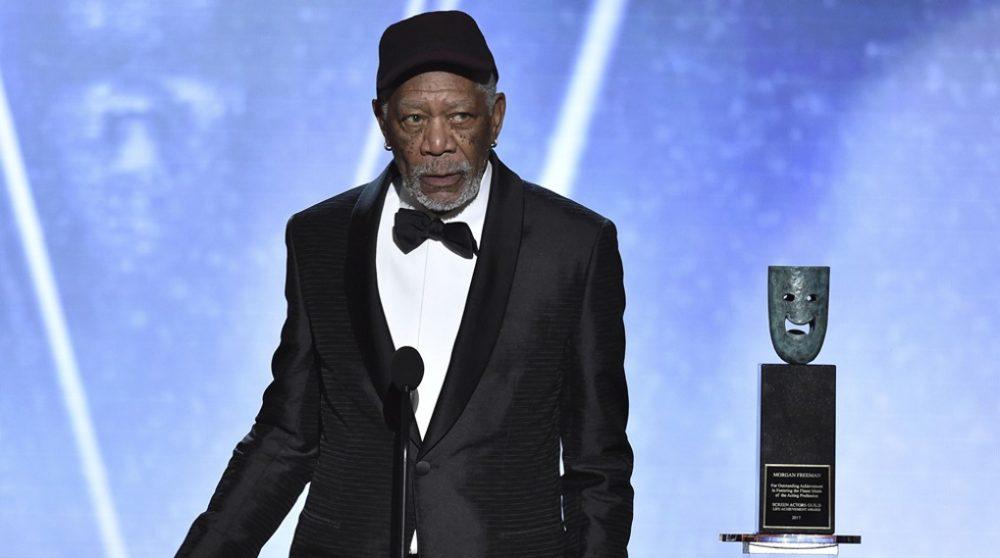 Morgan Freeman SAG #MeToo / Filmz.dk
