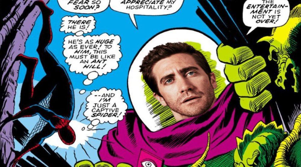 Mysterio Jake Gyllenhaal Spider-Man 2 / Filmz.dk
