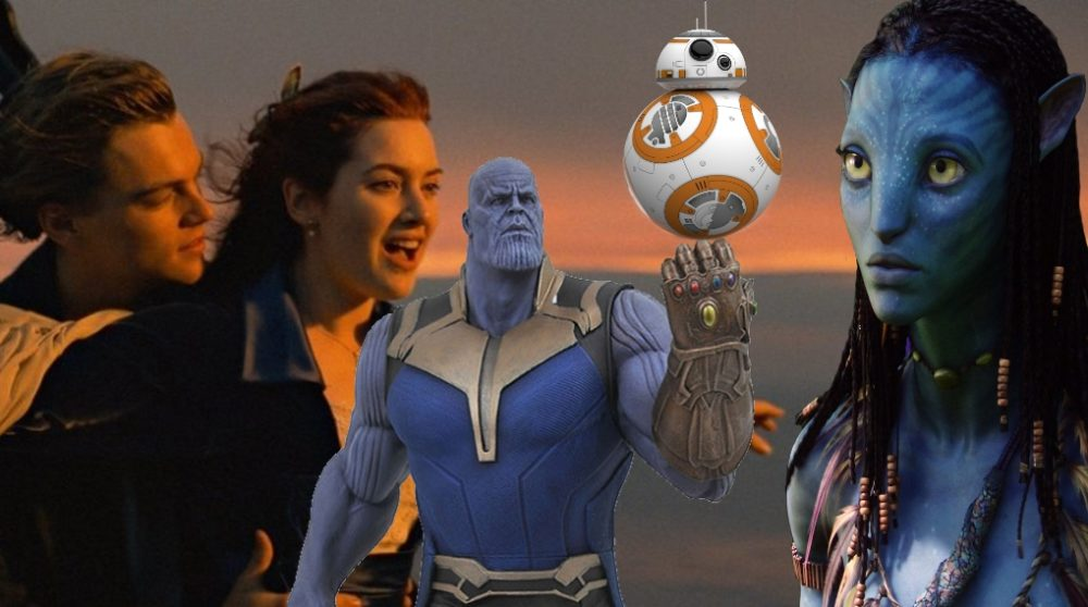 Avengers: Infinity War box office 2 milliarder dollars rekord avatar titanic star wars / Filmz.dk