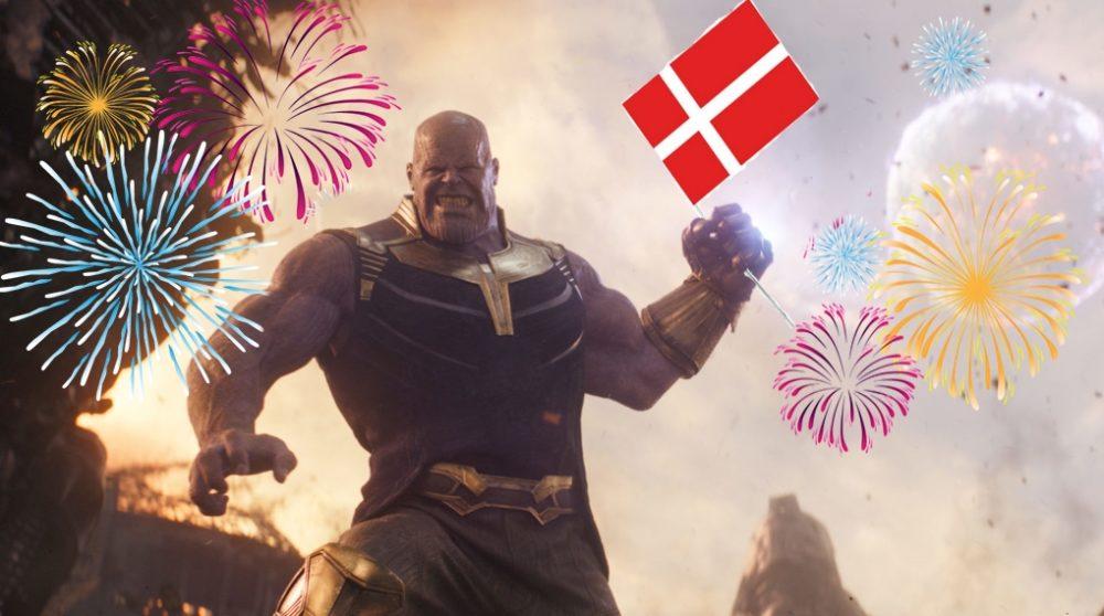 Marvel rekord dansk avengers infinity war / Filmz.dk
