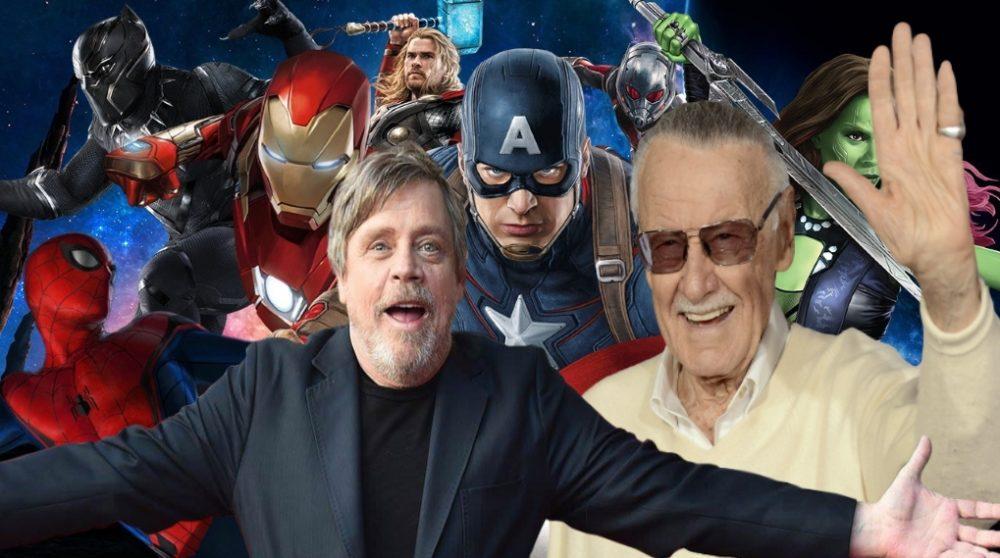 Mark Hamill Stan Lee avengers / Filmz.dk