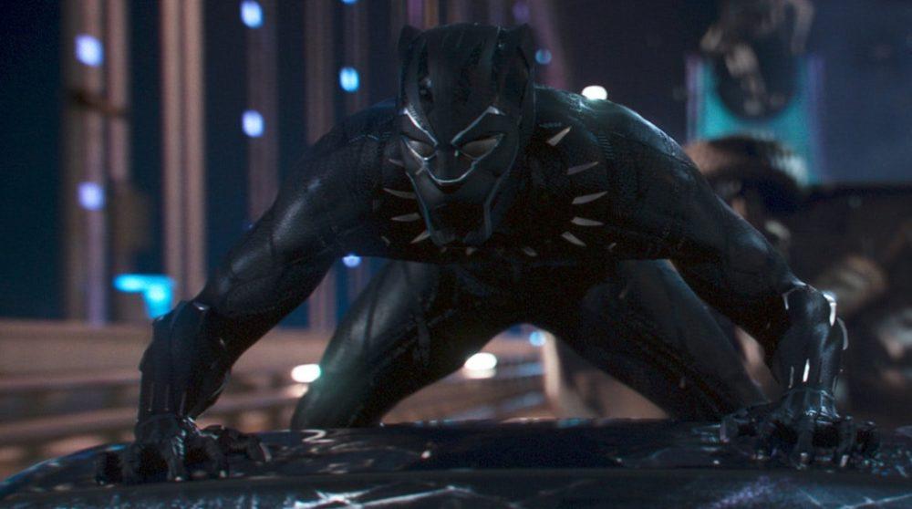 Black Panther vfx effekter bilscene / Filmz.dk