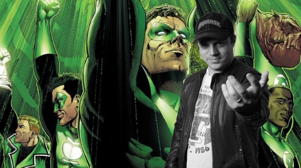 Geoff Johns Green Lanters Corps DCEU DC Films / Filmz.dk