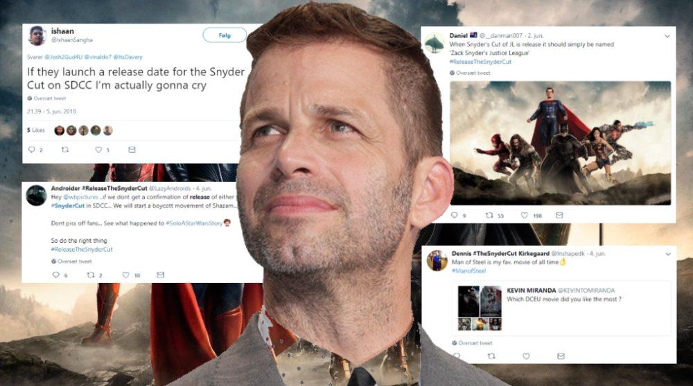 Justice League Zack Snyder cut dansk dc-fan dceu / Filmz.dk