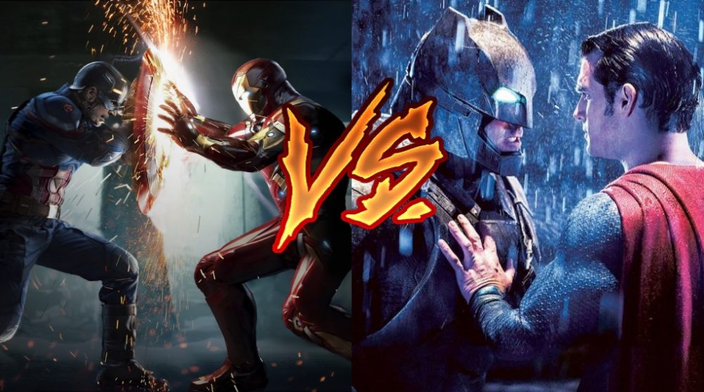 Marvel DC mcu dceu action / Filmz.dk
