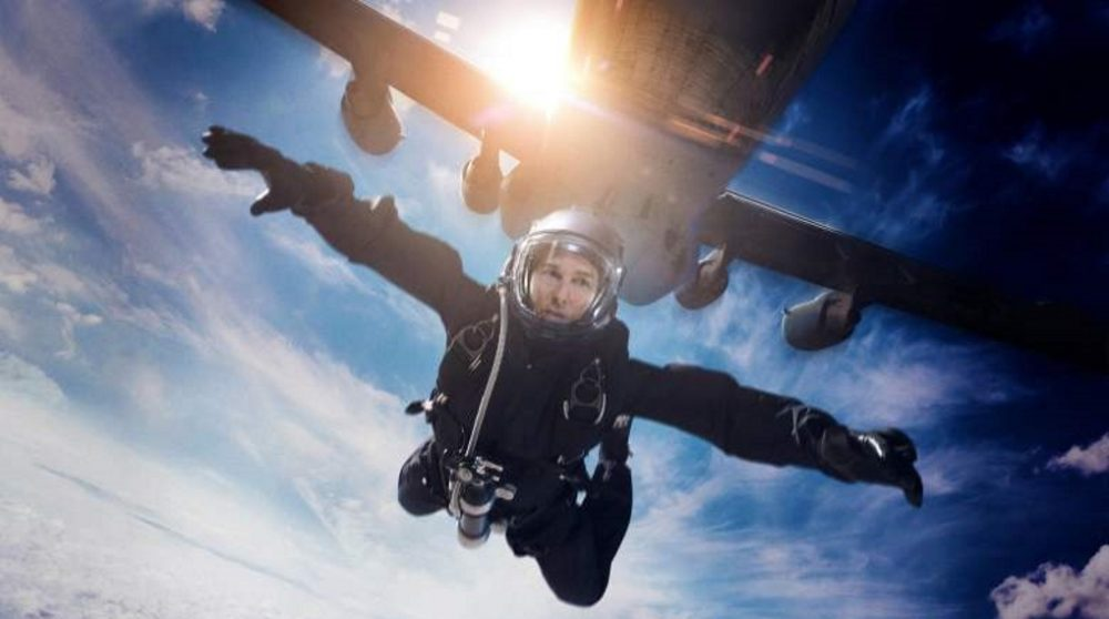 Mission impossible 6 fallout stunt halo tom cruise / Filmz.dk