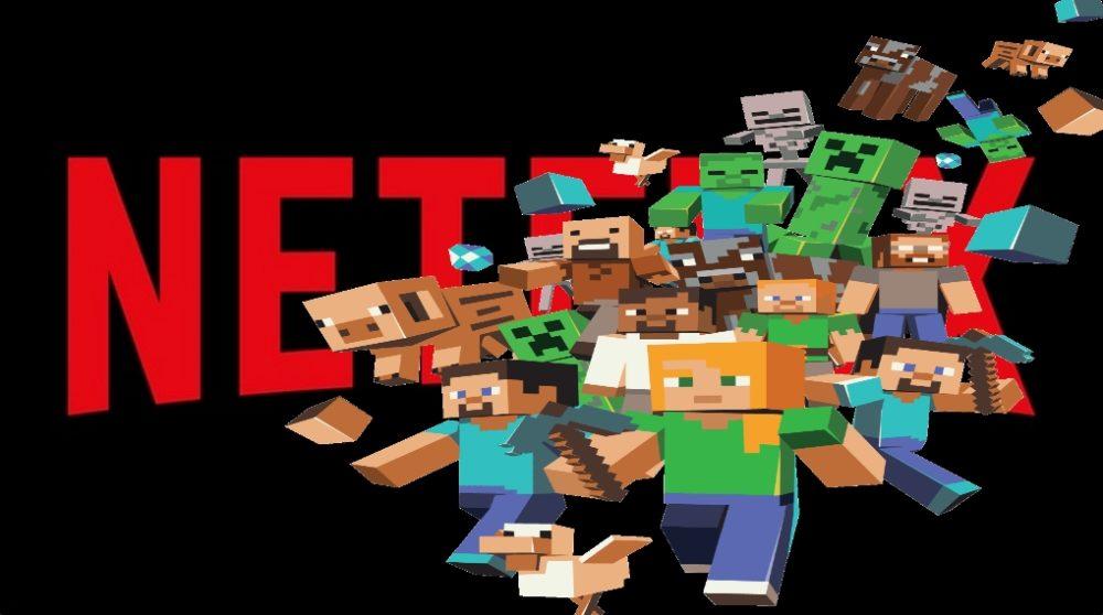 Netflix minecraft serie / Filmz.dk