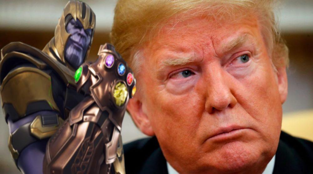 Thanos Donald Trump Josh Brolin / Filmz.dk