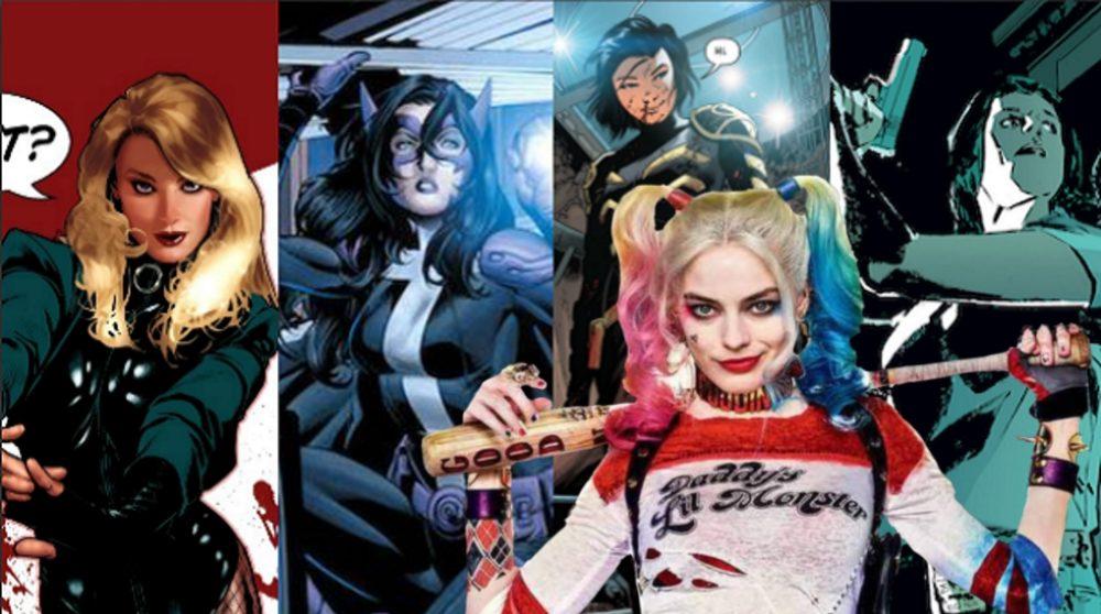 Birds of Prey Harley Quinn karakterer / Filmz.dk
