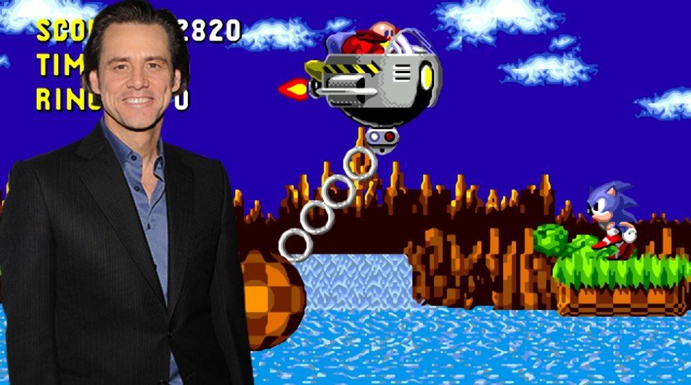 Jim Carrey doctor robotnik sonic / Filmz.dk