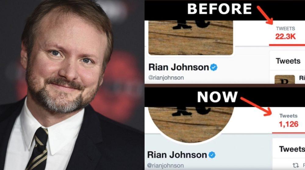 Rian Johnson sletter tweets / Filmz.dk