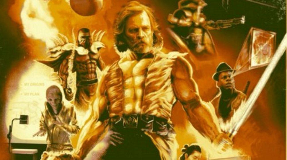 The Last Jedi remake plakat star wars / Filmz.dk