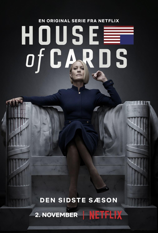 house of cards sidste sæson 6 plakat / Filmz.dk