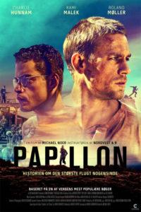 Papillon anmeldelse / Filmz.dk