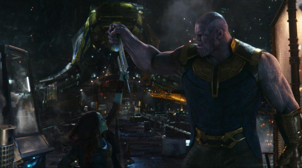 thanos gamora avengers infinity war slettet scene / Filmz.dk