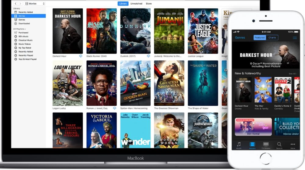 Apple fjerner købte film iTunes / Filmz.dk