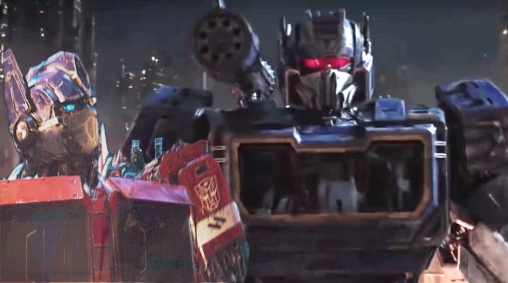 Bumblebee Optimus Prime trailer Transformers 6 / Filmz.dk