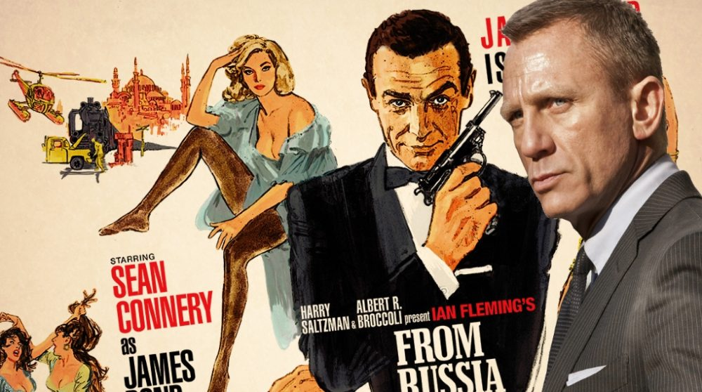 Daniel Craig Bond 25 russia with love / Filmz.dk