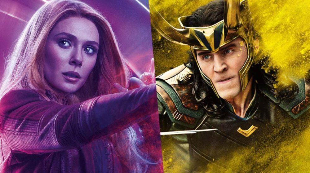 Loki Scarlet Witch Marvel serier disney / Filmz.dk