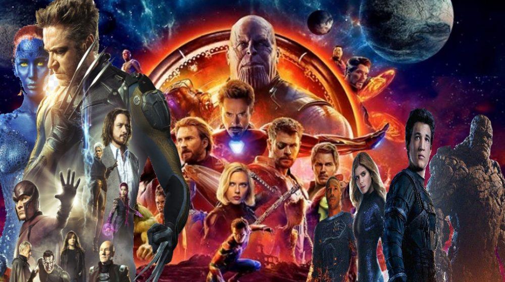 Marvel Studios Fox Marvel Avengers X-Men Fantastic Four / Filmz.dk
