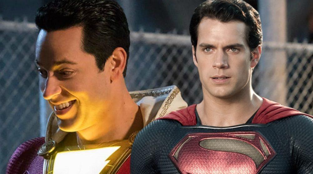 Shazam! cameo superman / Filmz.dk