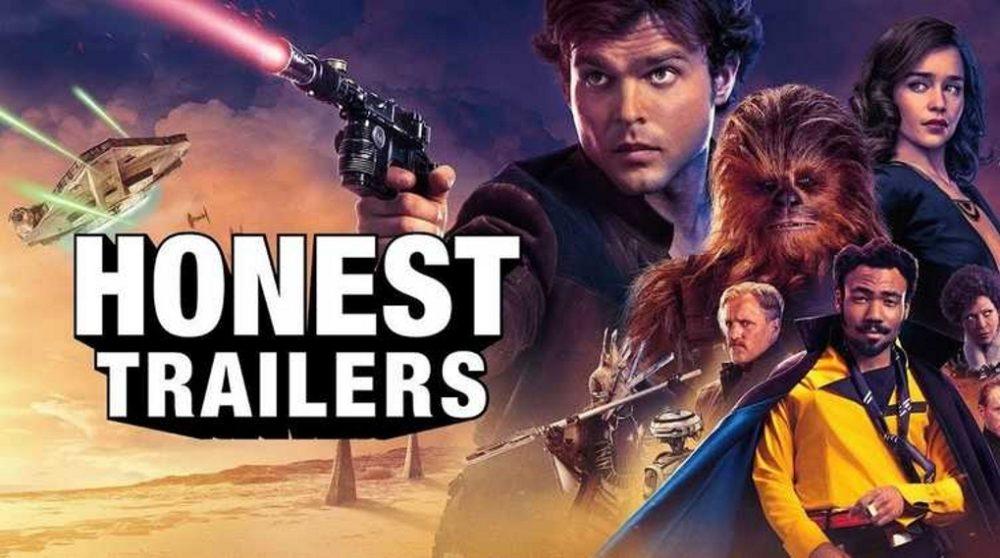 Solo Star Wars Honest trailers / Filmz.dk
