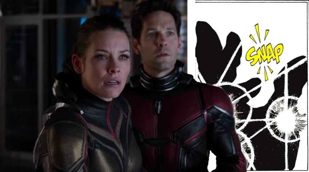 Ant-Man The Wasp Post-credit scene Infinity War / Filmz.dk