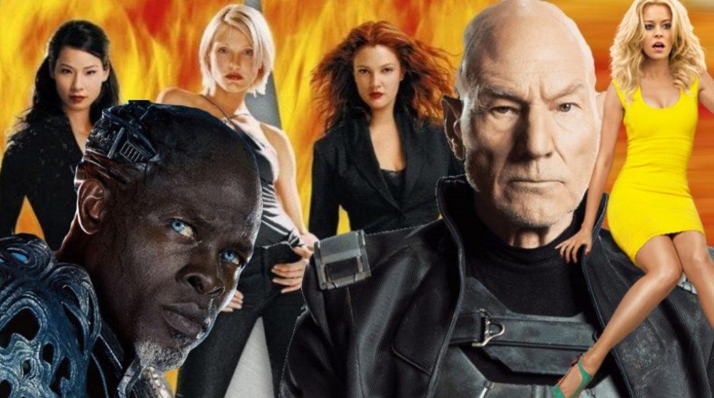 Djimon Hounsou Patrick Stewart Bosley Charlie's Angels / Filmz.dk
