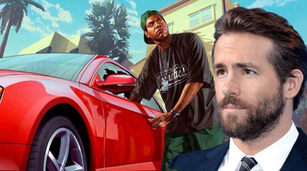 Free Guy grand theft auto gta Ryan Reynolds movie / Filmz.dk