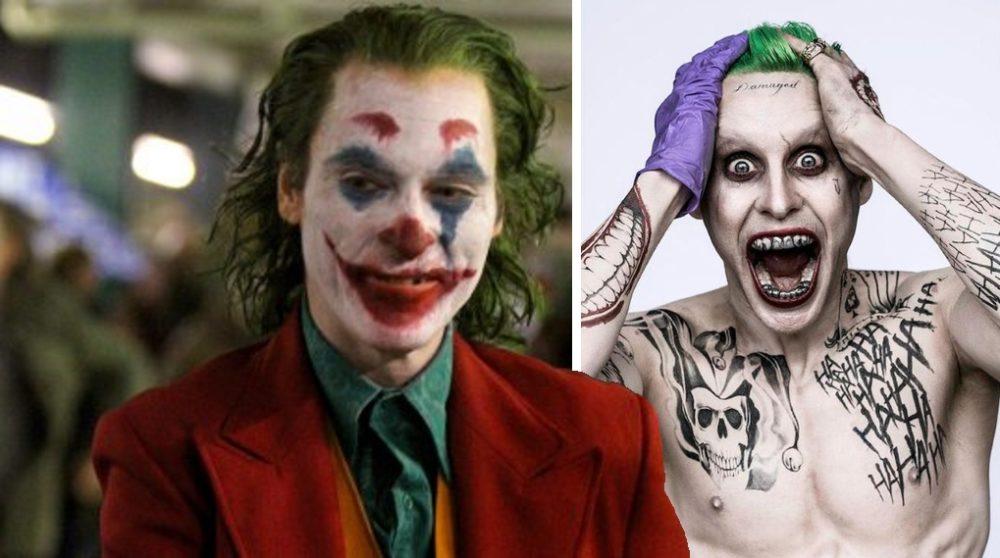 Joker udseende tatoveringer grillz / Filmz.dk