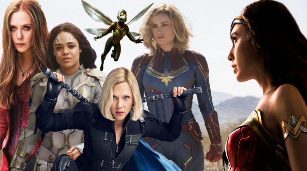 Kvindelige superhelte undersøgelse / Filmz.dk