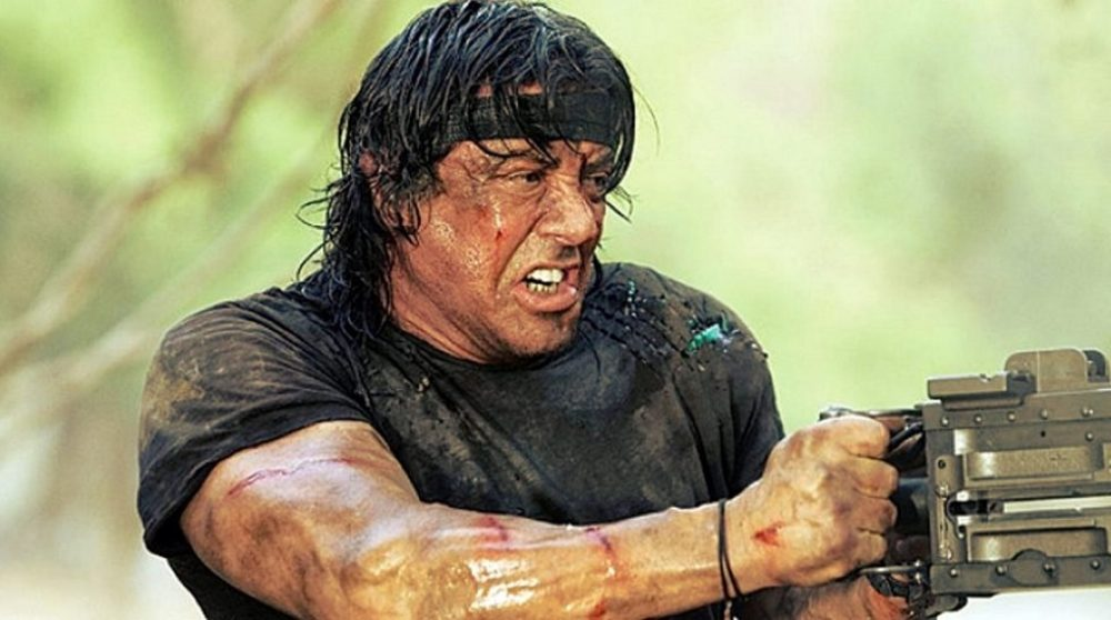 Rambo hunter Sylvester Stallone / Filmz.dk
